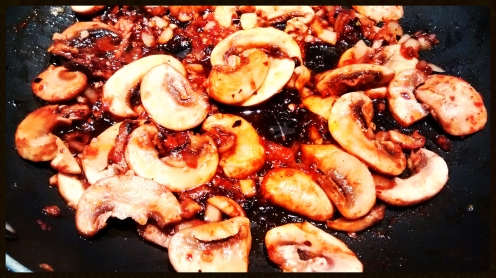 Mushroom in Pan